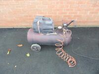 For sale 240 volts portable compressor with 50 liter tank