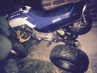 Aeon cobra 100cc quad bike