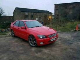 Lexus is200 2litre rear wheel drive