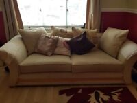 2 PIECE SUITE - ONE IS ALSO A SOFA BED> - ONLY £99