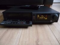 Akai VHS Video Cassette Recorder, VCR VS-A650, Rare Item, Fully Tested and Serviced.