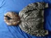 Girls bomber coat