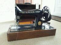 Singer sewing machine full working order with accessories
