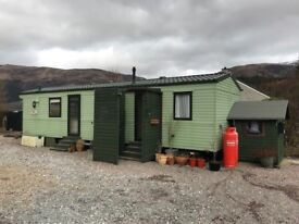 Willerby 2008 static caravan double glazed and centrally heated