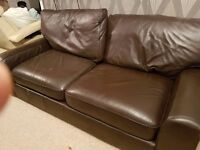 marks and spencers leather sofa