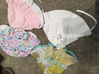 4 Baby girl summer hats