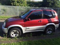 Suzuki grand vitara 1600 se 3 door 2004 very good condition may swap van
