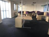 Multiple assortments of office furniture