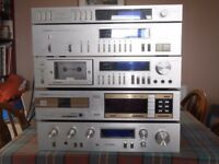 Pioneer Retro Hi Fi Separates - Amp, Tuner, CD player, cassette player and timer - SOLD AS SEEN £50
