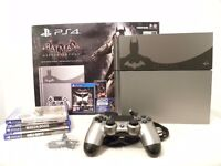 Playstation 4 Arkham Knight Limited Edition boxed PS4