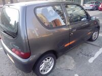 Stunning Fiat Seicento Sporting 1.1L Year 2000
