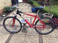 Carerra Kracken bike - originally from Halfords