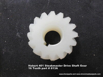 Hobart Model 400 401 Steakmaster Drive Shaft Gear 16 Tooth Parts 429a-613a New