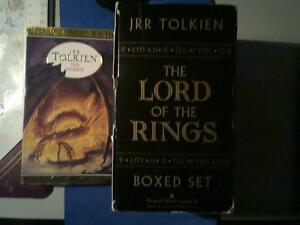 "J R R TOLKIEN ""LORD of the RINGS"" COLLECTORS SET + ""THE HOBBIT"""