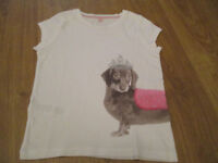 VARIOUS GIRLS TOPS - ALL IN VGC - AGE 6-7 / 7-8 / 8-9 - NEXT/H&M/M&S, ETC - FROM £1.50-£2.50