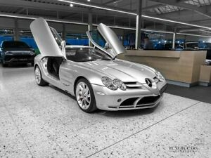 Mercedes-Benz SLR Coupe SILVER / RED