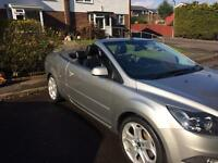 Ford Focus CC 2 2.0 TDCi Diesel Silver Convertible Cabriolet 2008