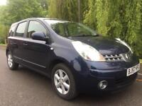 NISSAN NOTE 1.4 ACENTA LOW MILEAGE FULL MOT NO ADVISORIES FIRST TO SEE WILL BUY