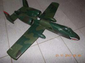 Top Gun radio controlled model aircraft A10 thunderbolt - never flown