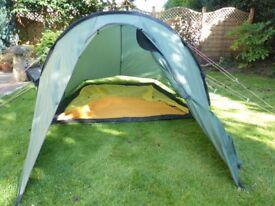 Hilleberg Nallo 3 lightweight tent 2/3person with footprint groundsheets