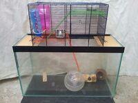 Gerbil / Hamster Cage (Gerbilarium)