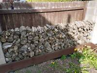 Seasoned firewood logs for 2 years mixed