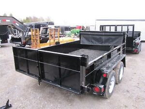 2017 Advantage 3.5 TON 6'x12' DUMP TRAILER Peterborough Peterborough Area image 2