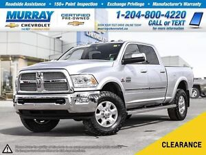 2013 Ram 3500 *Leather Heated Seats, Sunroof, Climate Control*
