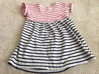 Joules Classic Striped Tunic Age 4