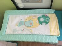 Changing mat, pampers nappies, swimming nappies