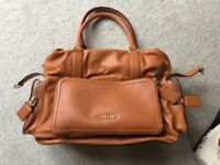 Brand new leather Sugarjack Changing bag
