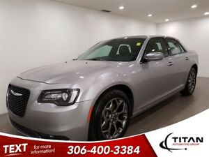 2017 Chrysler 300 S|AWD|CAM|Leather|Bluetooth