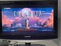 "Samsung 26"" LCD TV and Nikkai DVD Player"