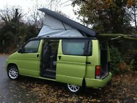 HI SPEC MAZDA BONGO 2.5TD 4WD MPV DAY VAN/CAMPER SURF BUS/LOW MILES/LOW LEVEL COOLANT ALARM/VW T4 T5