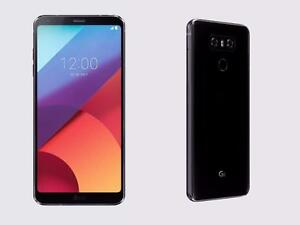 Brand new Sealed Box Unlocked LG G6 LTE Black or Silver