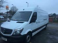 2014 Mercedes Benz Sprinter 313 CDI. 98,000 MILES ONLY. FSH. 1 OWNER. NO VAT. BARGAIN. WITH WARRANTY