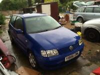Swaps? Vw polo 6n2 1.4 tdi spares or repairs remapped