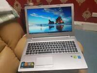 MINT SUPERFAST GAMING LENOVO Z50 INTEL CORE i7 NVIDIA 840M 4GB 1000GB SSHD 8GB 2.60GHZ CAN DELIVER