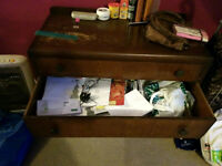 Small Wardrove with 3 drawers in used condition