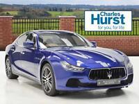 Maserati Ghibli S (blue) 2016-07-18