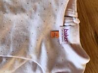 Ted baker dress and shoes size 3/6 months
