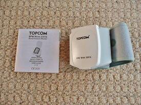 TOPCOM Wrist Blood Pressure Monitor 2301b Health Care