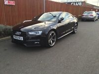 Audi A5 Coupe 2.0 TFSI Black Edition 2013 (Low mileage)