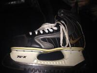 Nike top drawer ice skates size 11 cost £159 new worn once will accept £60