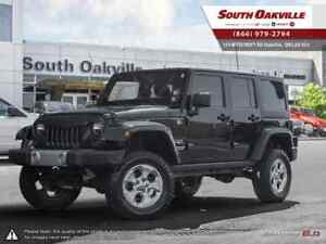 2013 Jeep Wrangler Unlimited Sahara | HEATED LEATHER | LIFTED |