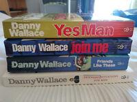 Danny Wallace Books x 4