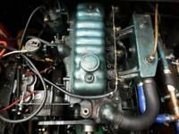 Perkins 4 108 inboard diesel boat engine for sale.
