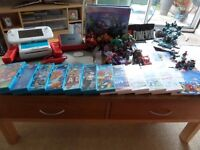 Nintendo Wii U bundle, including Disney infinity, Lego Dimensions and other games take a look.