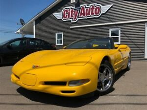 2001 Chevrolet Corvette New Price: $22,800.00