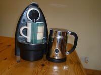 Krups Nespresso Coffee Machine with Milk Frother